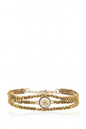 Hipanema | Armband Celestine | goud
