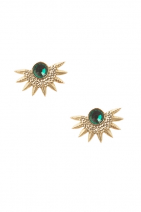 Hipanema |  Earrings Galix | green