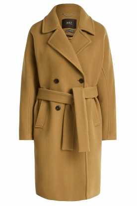 Set | Coat with belt Manhattan | camel