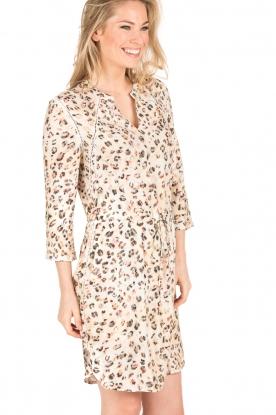 Aaiko | Luipaard jurk Evelyn | print