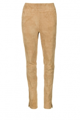 Arma | Suede pants Chatou | beige