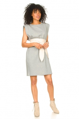 Look Sleeveless cotton dress Gia
