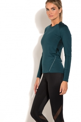 Casall | Long sleeve sporttop District | blauw