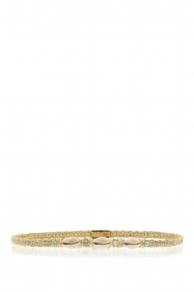 Hipanema |  Bracelet/choker Ciloo | gold