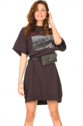 Set |  T-shirt dress Sabien | black