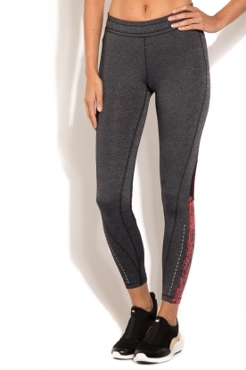 Sports leggings District | grey