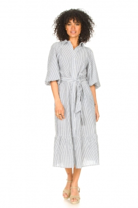 Look Gestreepte midi dress Ceejay