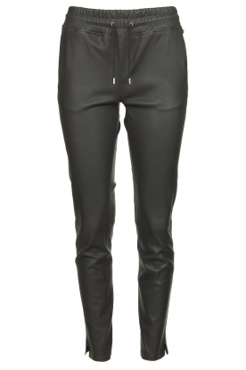 STUDIO AR BY ARMA |Leather pants Naomi | black