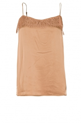 DAY Birger et Mikkelsen |  Silk top Leel | brown