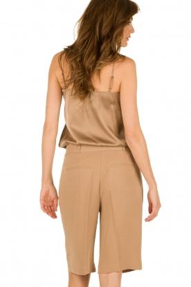 Silk top Leel | brown