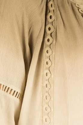 Aaiko | Ombre blouse Hay | groen