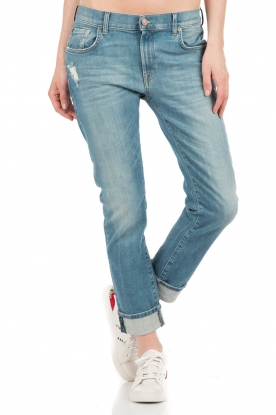 7 For All Mankind | Jeans Relaxed Skinny | blauw