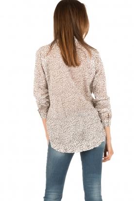 Aaiko | Omslag blouse Cicila | print