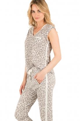 Aaiko | Luipaard top Leonie | print