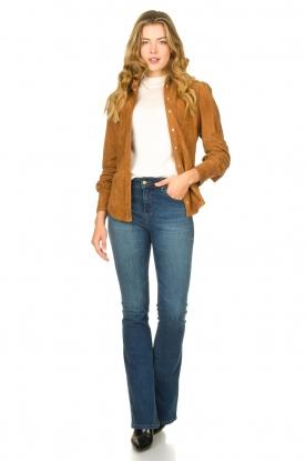 Look Suede blouse Jade