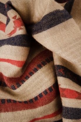 Antik Batik | Sjaal Cola | beige