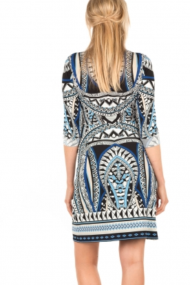 Printed dress Lorraine | multi