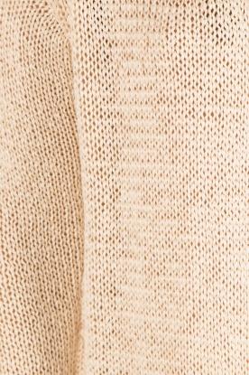Aaiko | Gehaakt vest Tiziana | beige