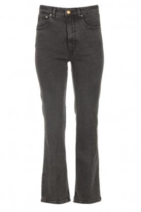 Lois Jeans |  zwart | Pants Straight River