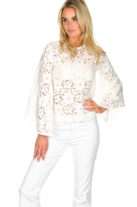 Hipanema |  Lace top Ivy | white