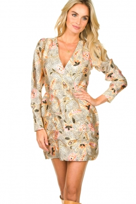 Second Female |  Floral mini dress Eske | multi