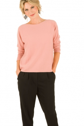 Cashmere sweater Floor | pink
