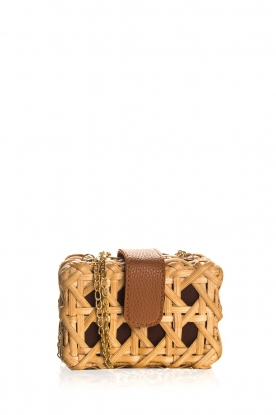 Hipanema |  Rattan shoulder bag Corte | natural