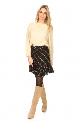 Look Skirt with floral print Louis