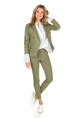 Set | Blazer Kira | groen