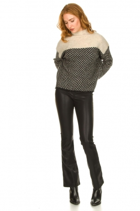 Look Sweater with stand-up collar Herrin