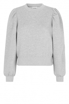 Second Female |  Sweater with puff sleeves Carmella | grey