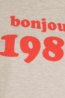 Set | Sweater tanktop Bonjour | grijs