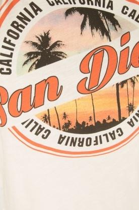 Set | T-shirt San Diego | wit