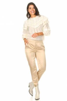 Look Top with lace Frencia