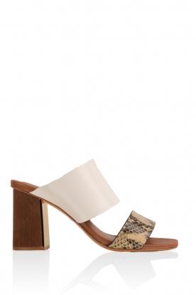 Leather sandal Ema | multi