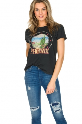 Set | T-shirt Phoenix | zwart