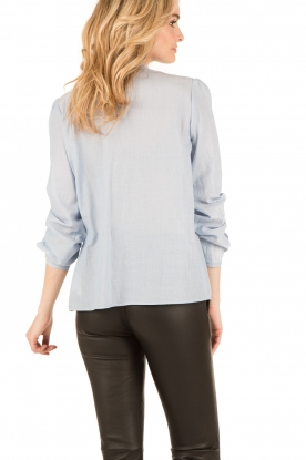 Set | Oversized blouse Renee | blauw