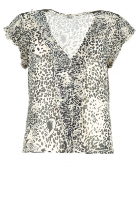 Liu Jo | Top with print Beau | animal print