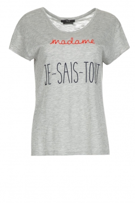 Set | T-shirt Madame | grijs