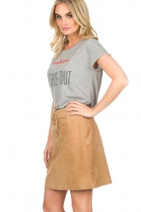 Set   T-shirt Madame   grijs