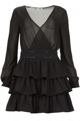 Liu Jo | Dress with ruffles Capri | black