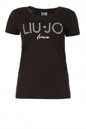 Liu Jo | Logo T-shirt Suzetta | black