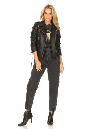 Look Lamb leather jacket Emeli