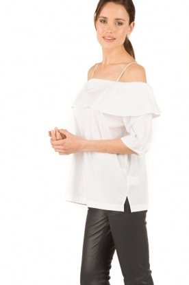 Set | Off-shoulder top Gilda | wit