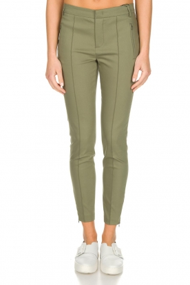 Set | pantalon Clair | green
