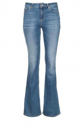 Liu Jo |  Flared jeans Rosa | blue