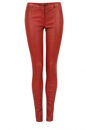 DNA |  Leather pants Blake | red