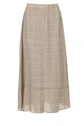 Knit-ted |Midi-rok Sandra | naturel