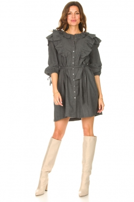 Look Cotton dress with ruffles Lova