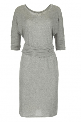BLAUMAX |  Dress with waist band Mila | light grey